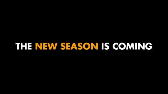 New Season is coming