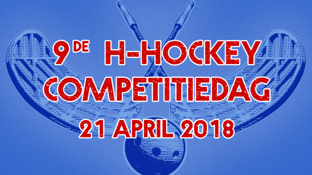 9e H-hockey competitiedag 2018