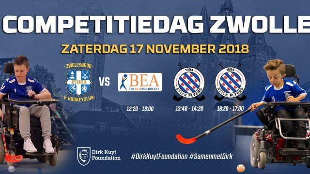 Header afbeelding E-hockey competitiedag in Zwolle